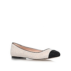 Carvela - Nude 'Lily' flat courts