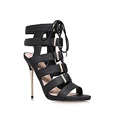Carvela - Black 'Gladiator' high heel occasion shoes