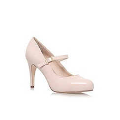 Miss KG - Beige 'Comet' high heel court shoe