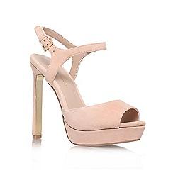 KG Kurt Geiger - Nude 'Hazal' high heel sandals