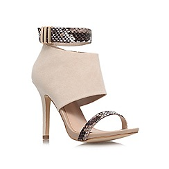 Miss KG - Taupe 'Empire' high heeled courts