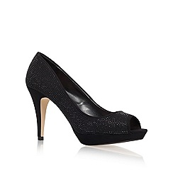 Miss KG - Black 'Georgia' High Heel Court Shoes