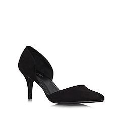 Miss KG - Black 'Celina2' mid heel courts