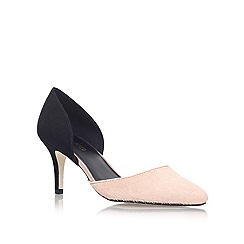 Miss KG - Black 'Celina2' Mid Heel Court Shoes