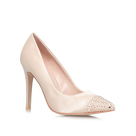Carvela - Nude +Lacey+ High Heel Courts