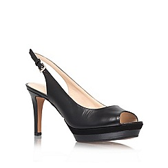 Nine West - Black 'Able20' high heel occasion shoes