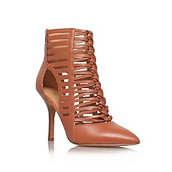 Nine West - Brown 'Bessy' high heel courts