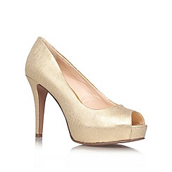 Nine West - Gold 'Camya20' High Heel Occasion Shoes