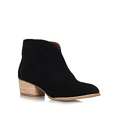 Nine West - Black 'Jarrad' low heel boots