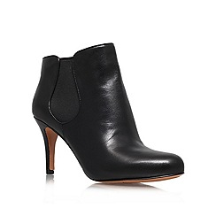 Nine West - Black 'Rallify' mid heel ankle boots