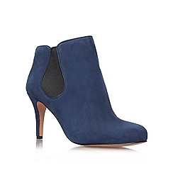 Nine West - Navy 'Rallify' Mid Heel Boots