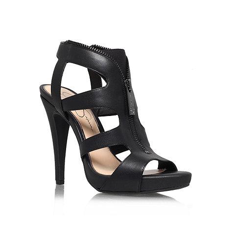 Jessica Simpson - Black +Carmyne+ high heel sandals