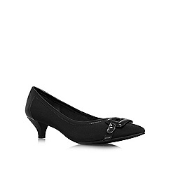 Anne Klein - Black 'Melanie2' low heel courts