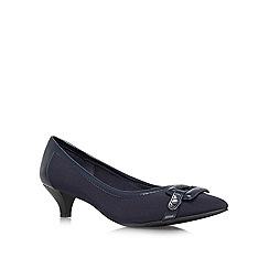 Anne Klein - Navy 'Melanie2' navy low heel courts