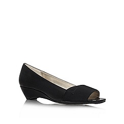 Anne Klein - Black 'Baylee3' low heel courts