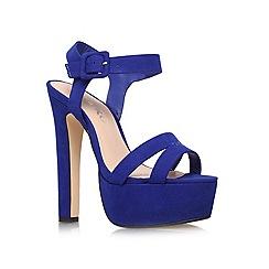 Miss KG - Blue 'Echo' high heel sandals