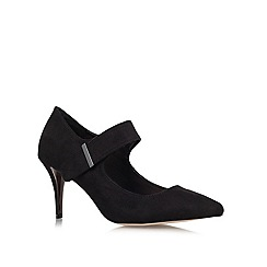 Carvela - Black 'August' Mid Heel Court Shoes