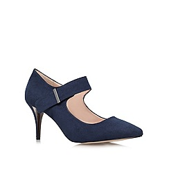 Carvela - Navy 'August' Mid Heel Court Shoes