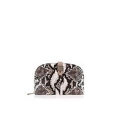 Miss KG - Beige 'Treasure' clutch bag
