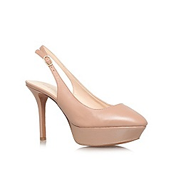 Nine West - Taupe 'Cozelle' High Heel Courts
