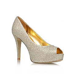 Nine West - Gold 'Camya22' high heel courts