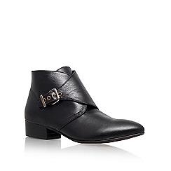 KG Kurt Geiger - Black 'Sandra' Low Heel Boots