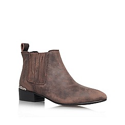 KG Kurt Geiger - Grey 'Slade' Leather boot