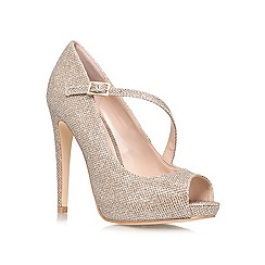 Lipsy - Gold 'Maxy' high heeled courts
