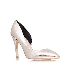 Lipsy - Metal com 'Megan' high heeled courts