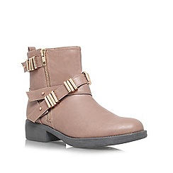 Lipsy - Taupe 'Roxy' ankle boots