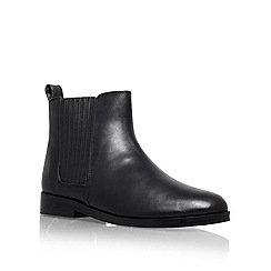 KG Kurt Geiger - Black 'Scratch' low heel ankle boots
