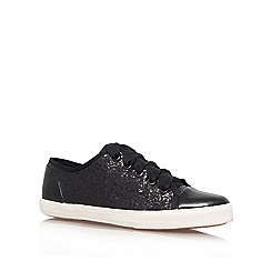 Carvela - Black 'Jasper' flat lace up