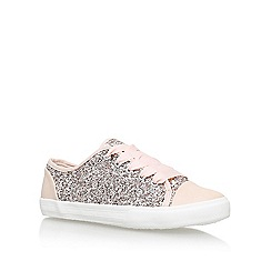 Carvela - Natural 'Jasper' Flat Lace Up Sneakers