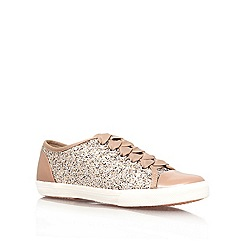Carvela - Gold 'Jasper' flat lace up