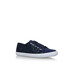 Carvela - Blue 'Jasper' flat lace up sneakers