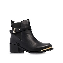 Carvela - Black 'Tomas' low heeled ankle boots
