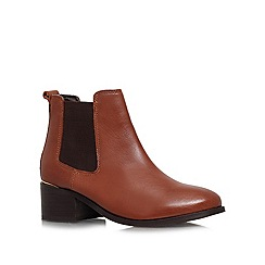 Carvela - Brown 'Toby' Mid heeled ankle boots