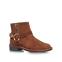 Carvela - Brown 'Tough' flat boots