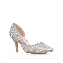 Carvela - Silver 'Kane' low heeled courts