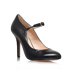 Nine West - Black 'Innerdiva' high heeled court shoe
