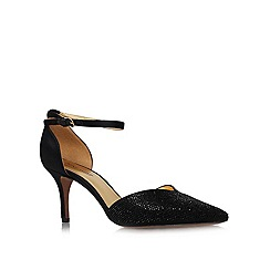 Nine West - Black 'Knowledge2' Mid Heel Courts