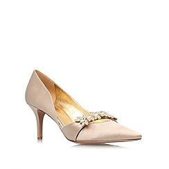 Nine West - Champagne 'Krista2' mid heeled court