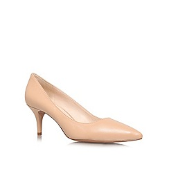 Nine West - Nude 'Margot20' mid heel courts