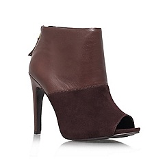 Nine West - Brown 'Meoww' high heel boot