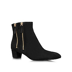 Nine West - Black 'Tunic8' low heeled boots
