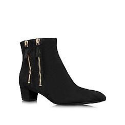 Nine West - Black 'Tunic8' low heeled boots