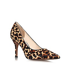 Nine West - Brown 'Flax5' high heeled courts
