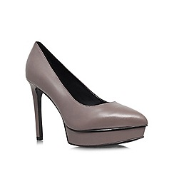 Nine West - Grey 'Bigbucks' High Heel Court Shoes
