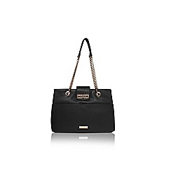 Carvela - Black 'Collette' Chain Tote Back
