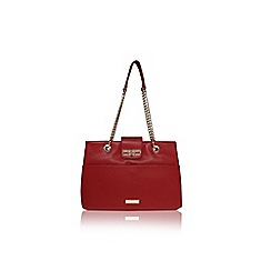 Carvela - Red 'Collette' chain tote bag